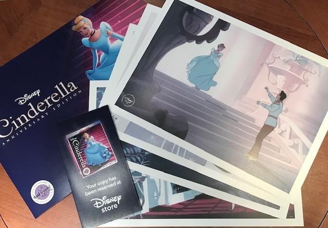 Cinderella Signature Edition presale from Disney Store