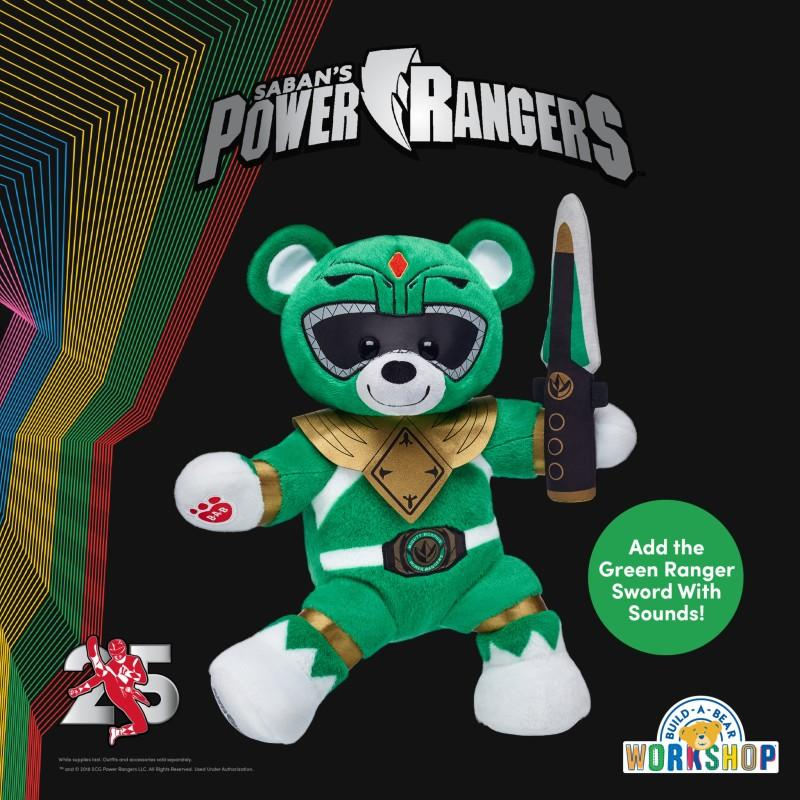 All Systems Go - It's Morphin time at Build-A-Bear Workshop from Build-A-Bear Workshop
