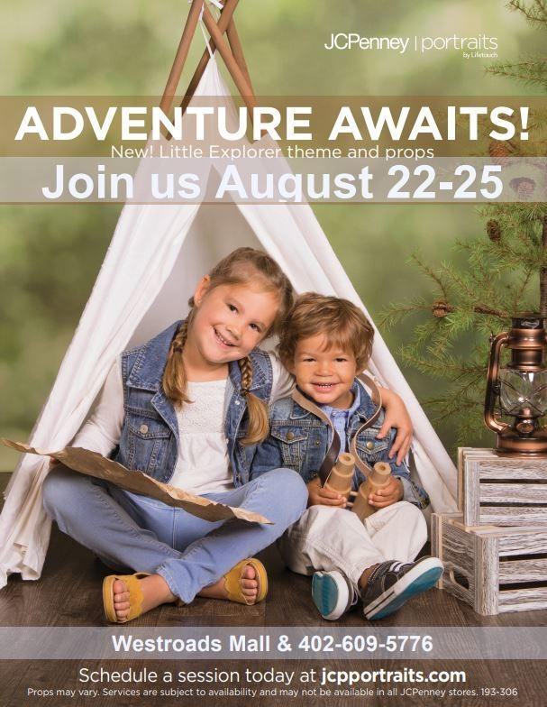 Adventure Awaits! from JCPenney