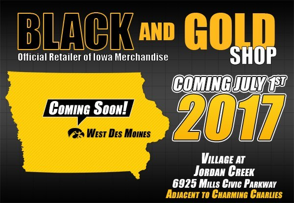 Grand Opening of The Black and Gold Shop