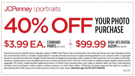 Take 40% off from JCPenney