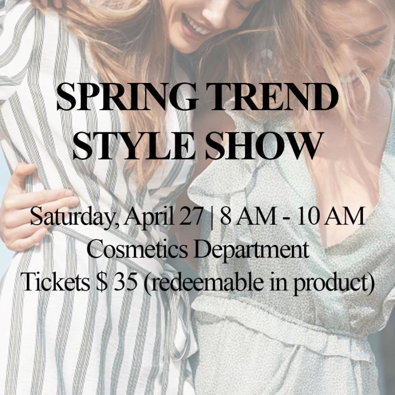 Spring Trend Style Show