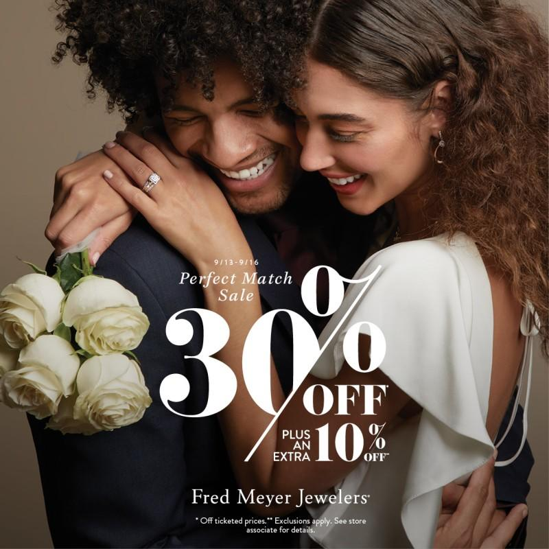 30% Off Or more on Select Jewelry