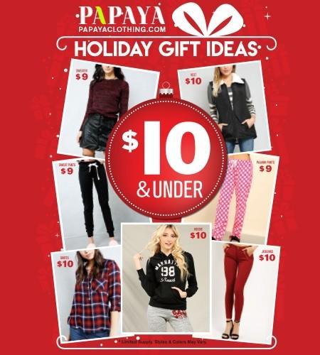 Papaya's Holiday Gift Ideas