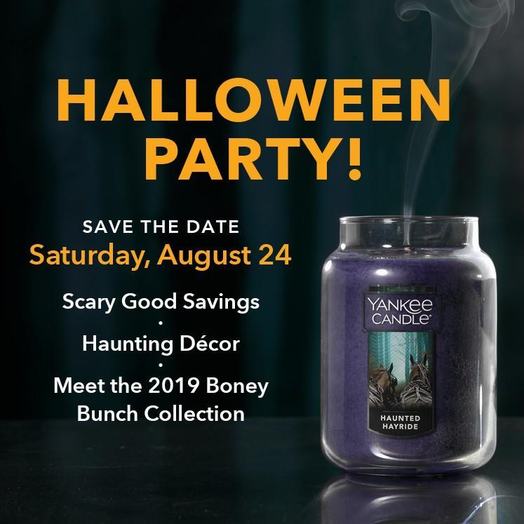 Haunted Hayride candle