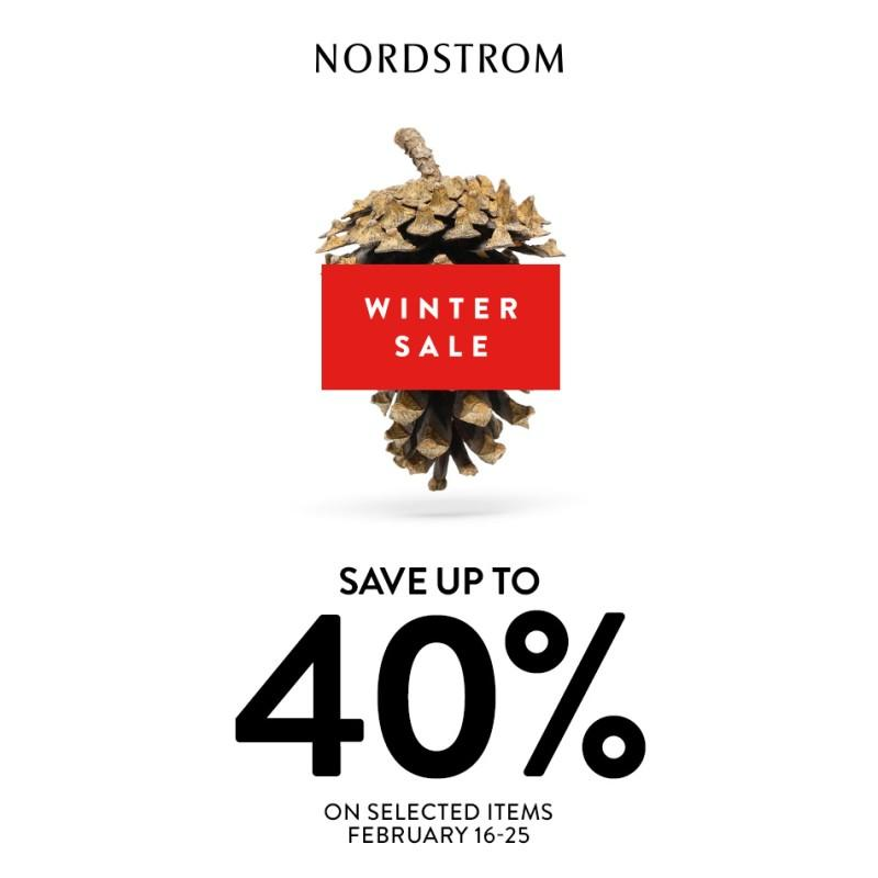 up to 40% Off selected items. from Nordstrom
