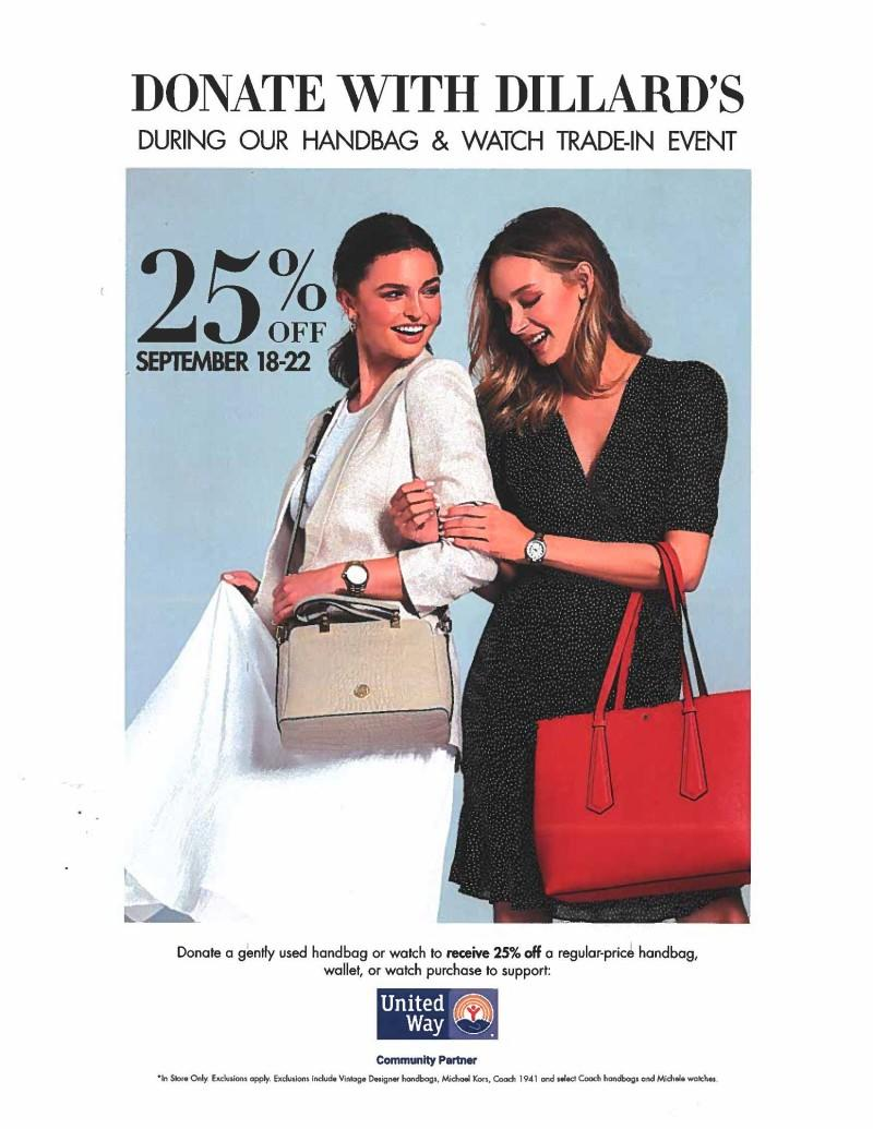 Handbag and Watch Trade-in Event from Dillard's