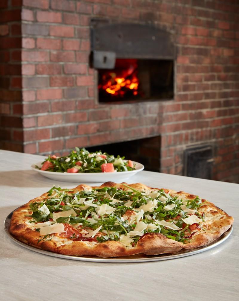 Fresh Cut Flavors Menu from Grimaldi's Coal Brick Oven Pizzeria