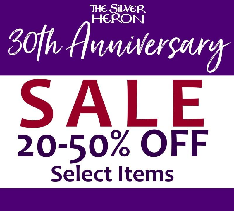 30th Anniversary Celebration Sale