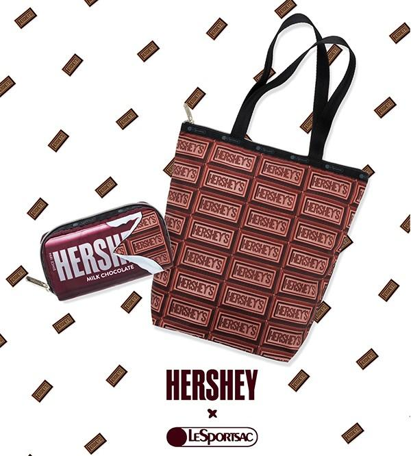 SWEET KISSES FROM HERSHEY x LESPORTSAC from LeSportsac
