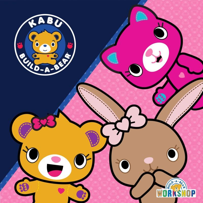 Kabu Event July 20-22 and July 27-29 from Build-A-Bear Workshop