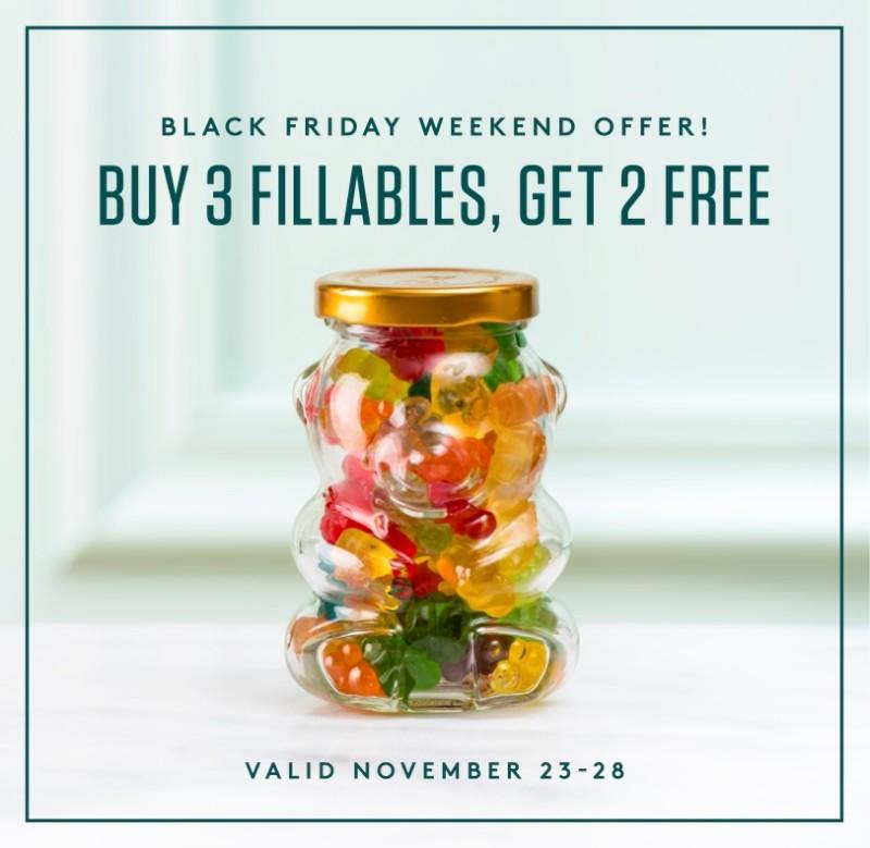 Fillables, Buy 3 get 2 free
