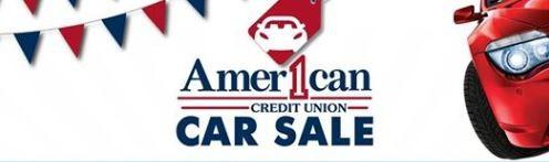American One Credit Union Car Sale Event
