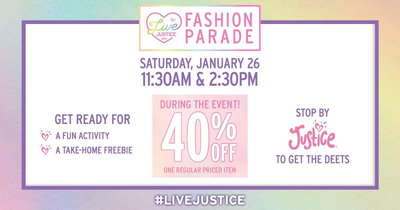 Live Justice 2019 Fashion Parade