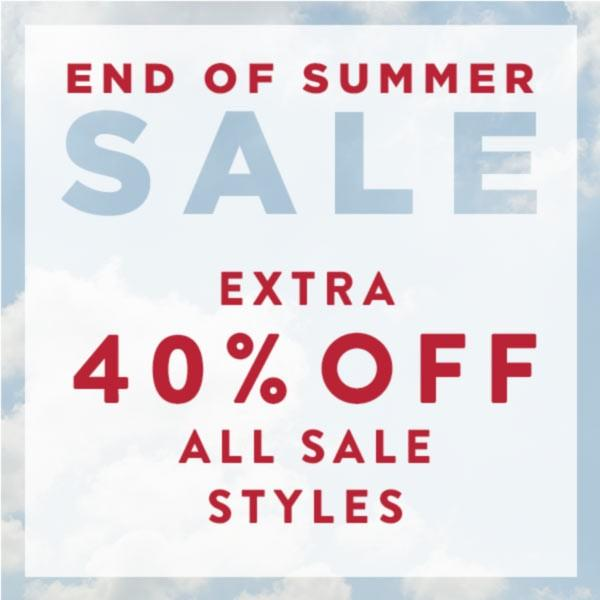 Extra 40% Off All Sales Styles