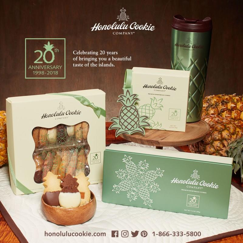 20th Anniversary Collection from Honolulu Cookie Company