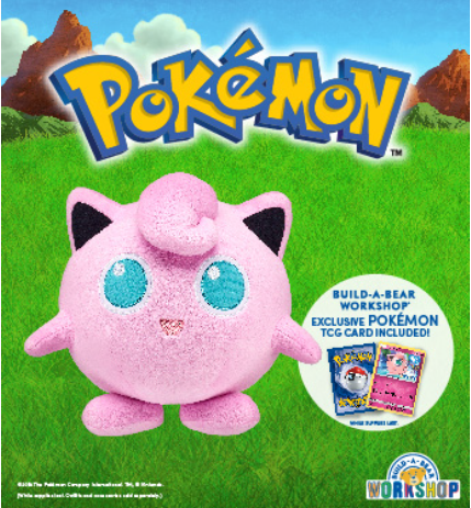 Jigglypuff is the NEWEST Pokémon at Build-A-Bear Workshop! from Build-A-Bear Workshop