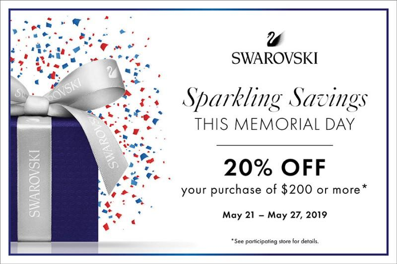 Sparkling Savings from Swarovski