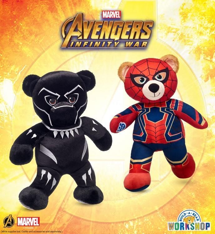 NEW Marvel's Avengers Infinity War Furry Friends