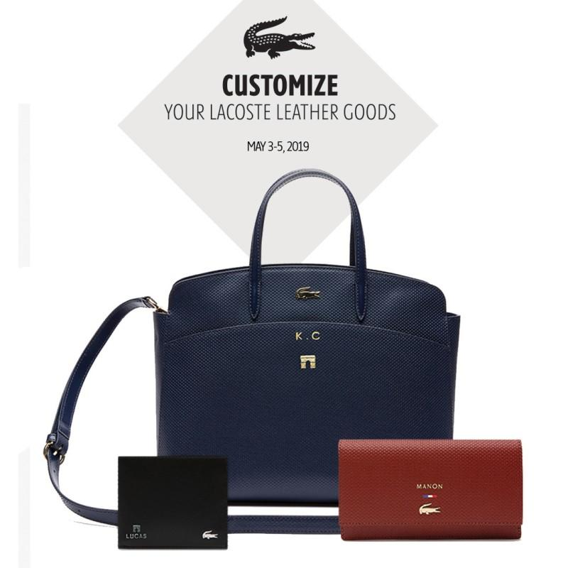 Customize Your Lacoste Leather Goods from Lacoste