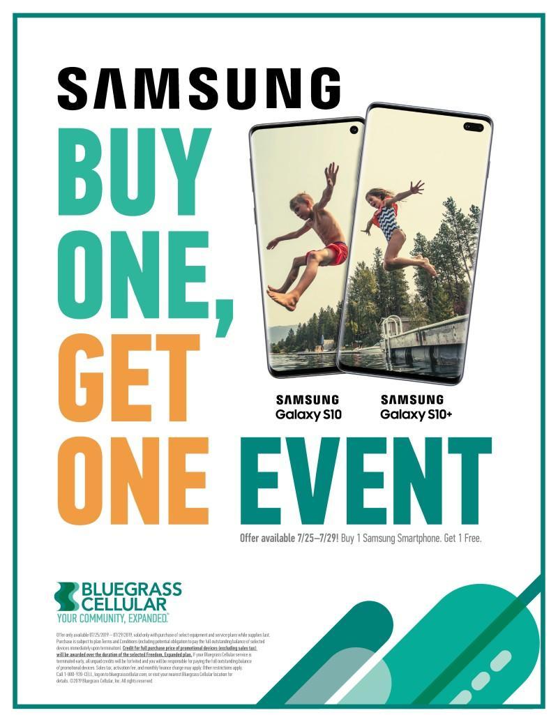 Samsung BOGO from Bluegrass Cellular