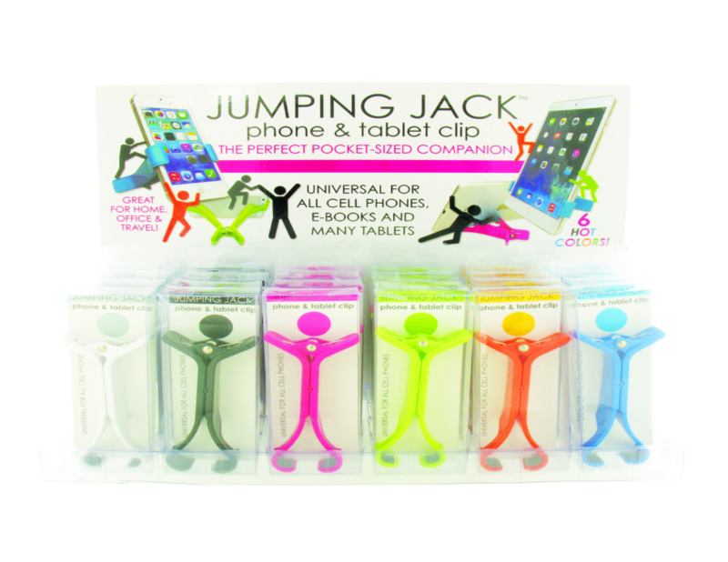 Jumping Jack Phone and Tablet Clips $4.99 from Don's Hallmark