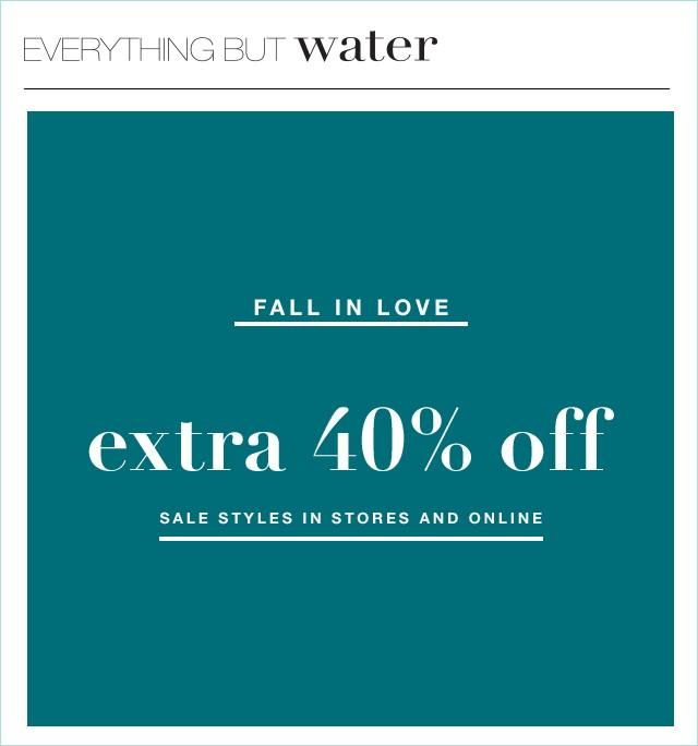 Sale from Everything But Water