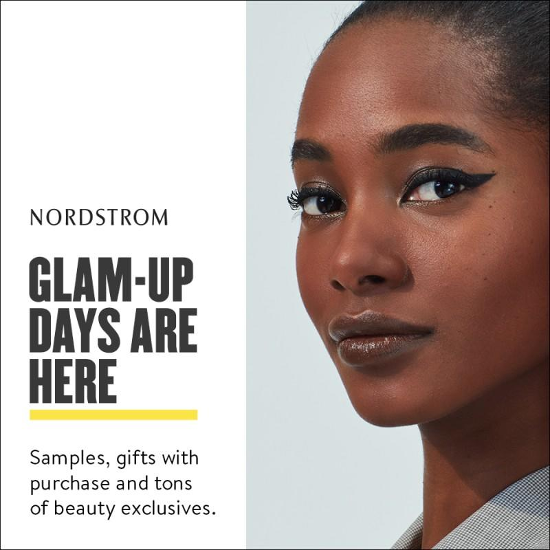 Glam days are HERE from Nordstrom