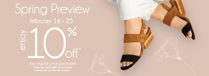 Spring Preview (10 Days Only) from Marmi