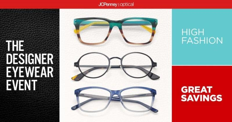 JCPenney Optical Designer Eyewear Event from JCPenney Optical