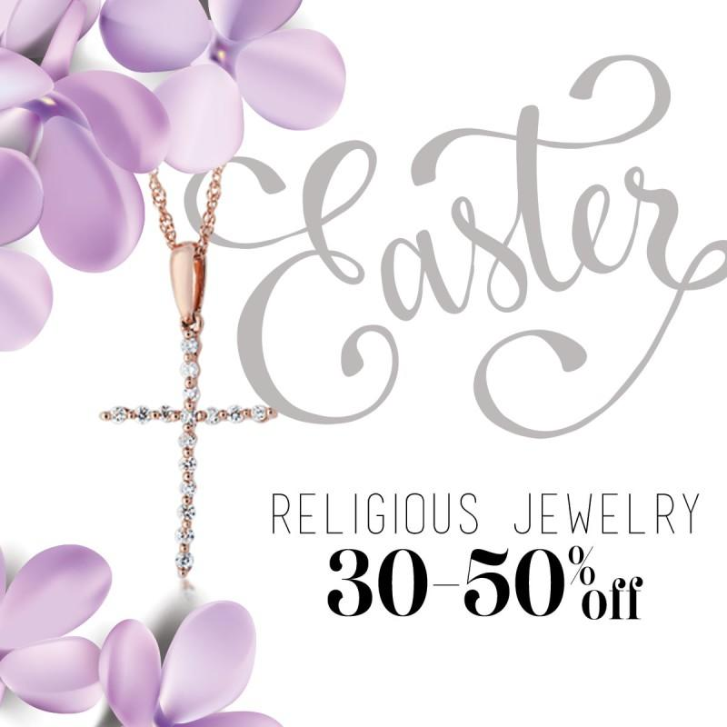 Religious Jewelry 30-50% Off from Riddle's Jewelry