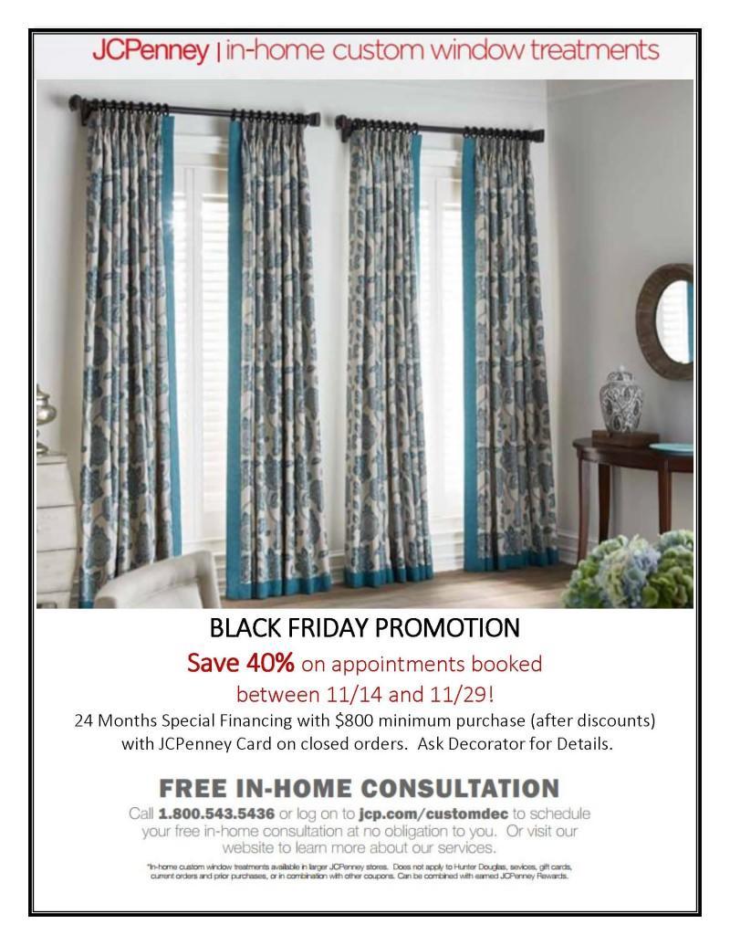 Save 40% On In Home Custom Window Treatments!