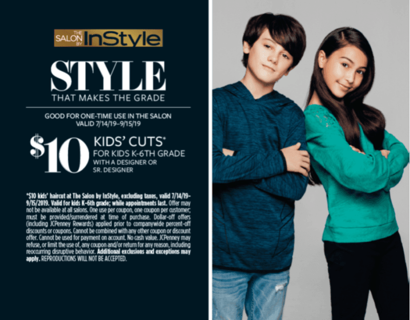 $10 Kids Haircut from JCP Salon