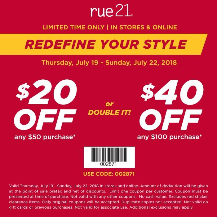 Redefine Your Style from rue21