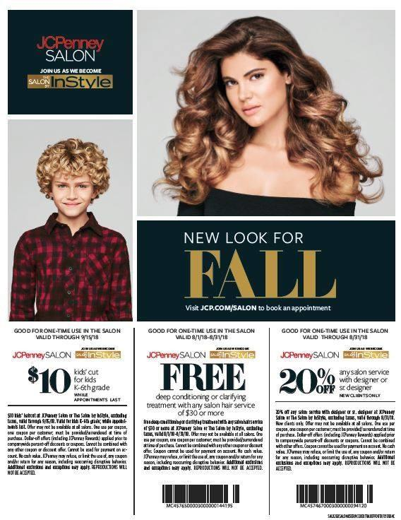 $10 kids' cuts at the JCPenney Salon from JCPenney