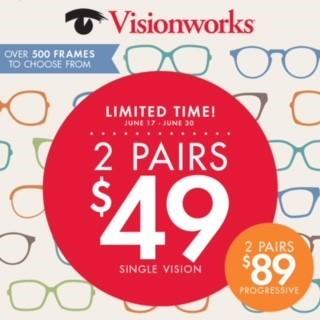 Hundreds of frames to choose from! from Visionworks