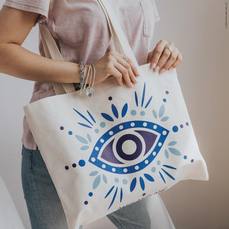 Free Evil Eye tote bag with purchase from ALEX AND ANI