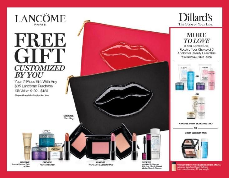 Reserve Your Gift With Lancome Today From Dillard S