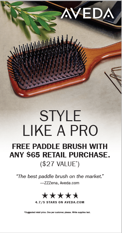 Free Gift with Purchase from Aveda