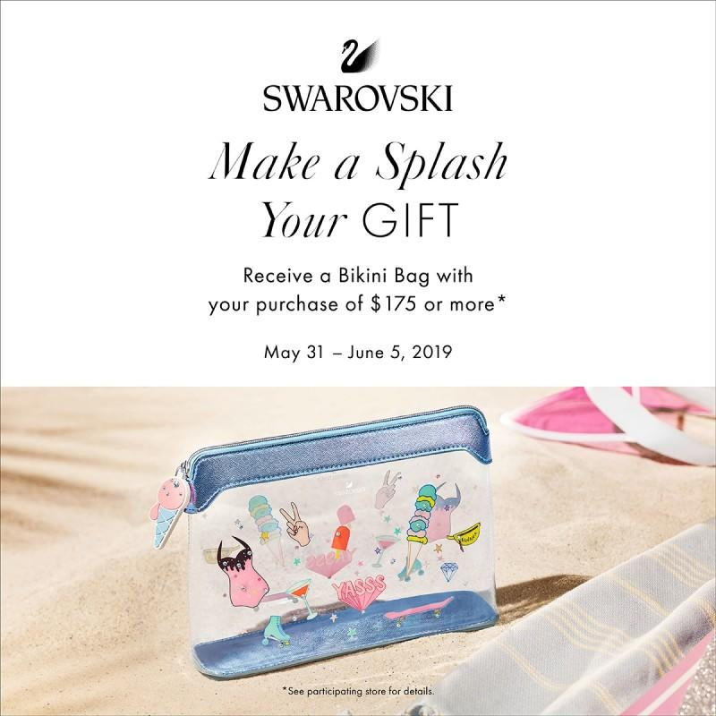 Free Gift with $175 Purchase from Swarovski