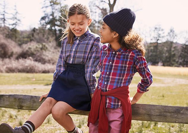 Kids in Flannel