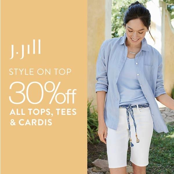 30% off All Tops from J.Jill