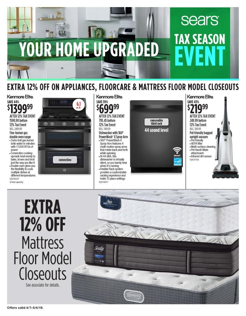 Tax Season Event from Sears