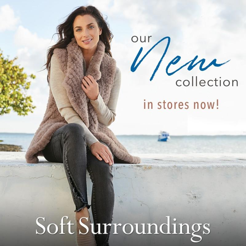 Soft Surroundings Endless Weekend Collection Now in Stores!