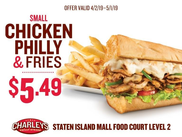 Meal Deals from Charleys Philly Steaks