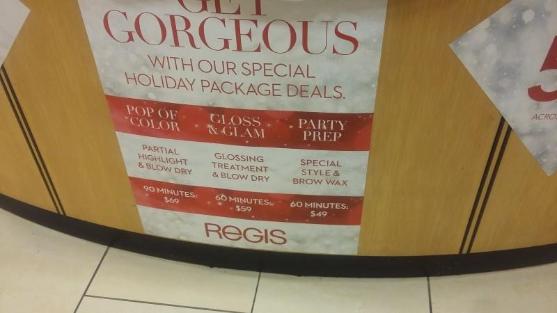 Get Gorgeous With Our Special Holiday Package Deals from Regis Salon
