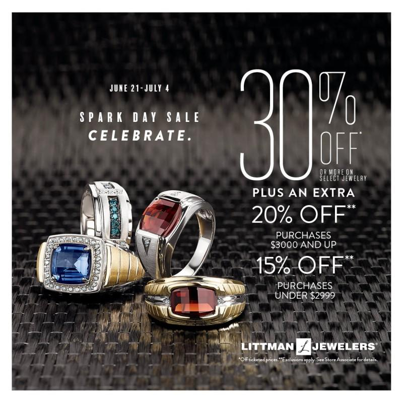 Sparkle Days Sale! from Littman Jewelers