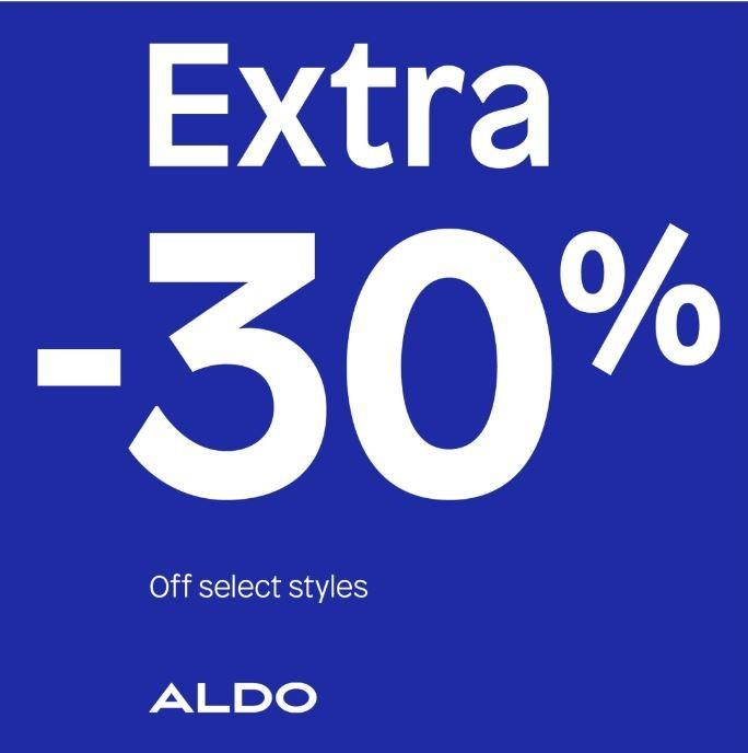 Extra 30% from ALDO Shoes