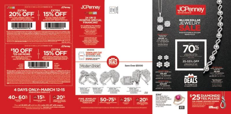 Billion Dollar Jewelry Sale from JCPenney