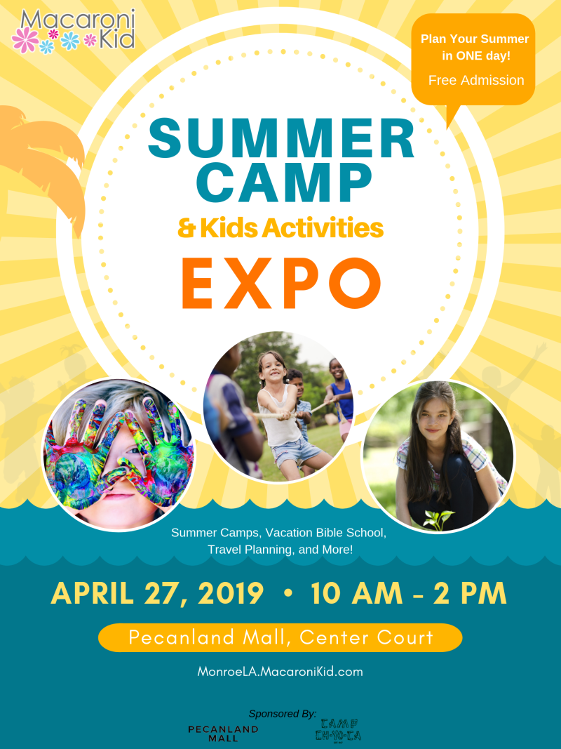 Summer Camp Expo poster